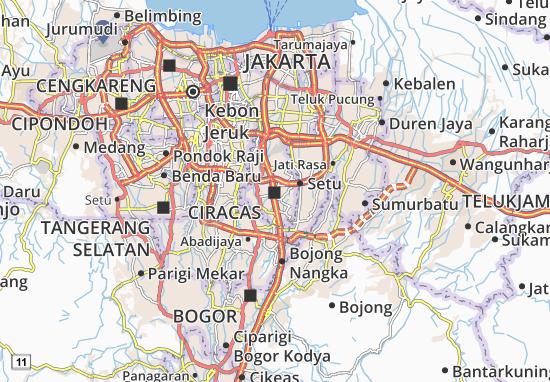Mapa Ciracas