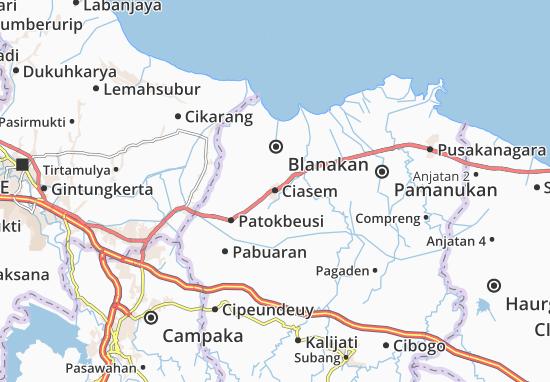 Ciasem Map