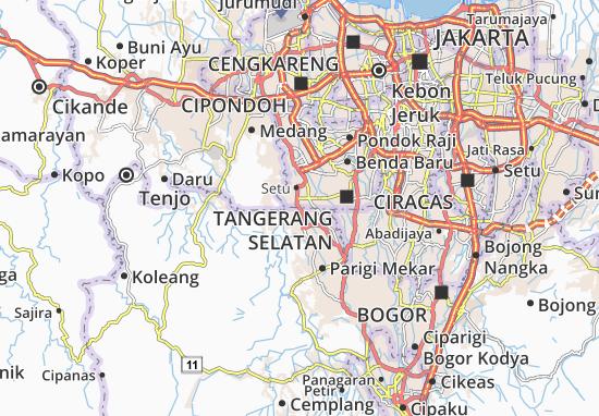 Gunung Sindur Map