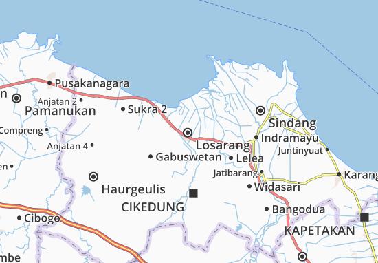 Losarang Map