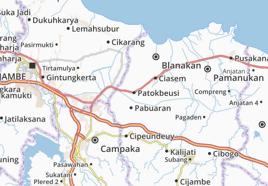Patokbeusi Map