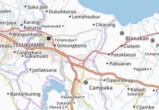 Cikampek Map