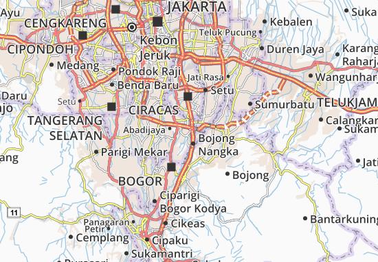 Mappe-Piantine Cimanggis