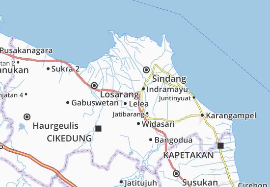 Lohbener Map