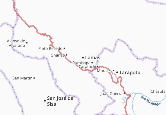 Mappe-Piantine Lamas