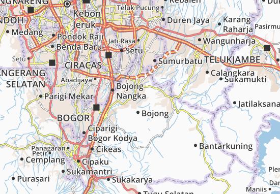Cileungsi Map