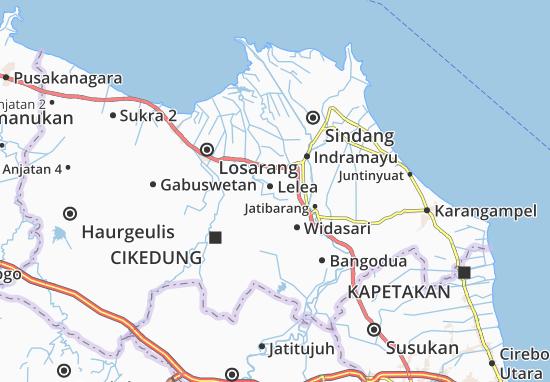 Lelea Map