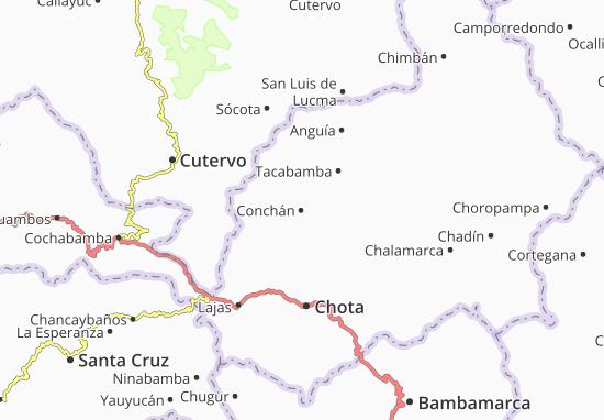 Conchán Map