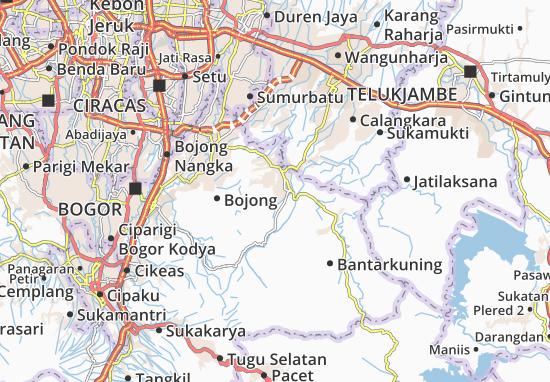 Jonggol Map