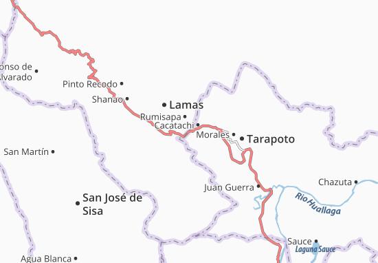Cacatachi Map