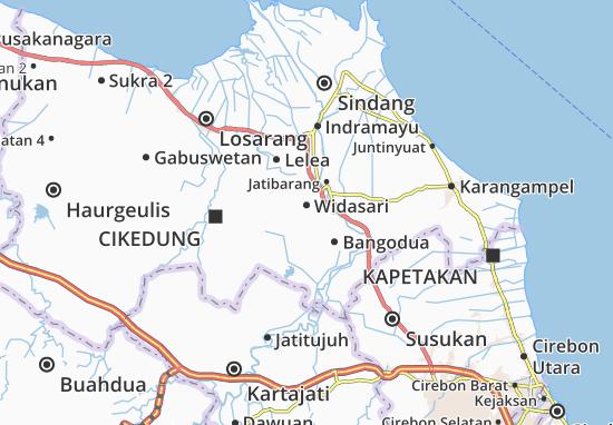 Widasari Map