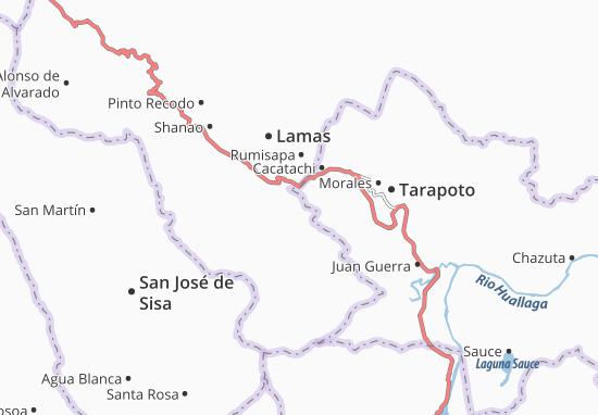 Cuñumbuqui Map