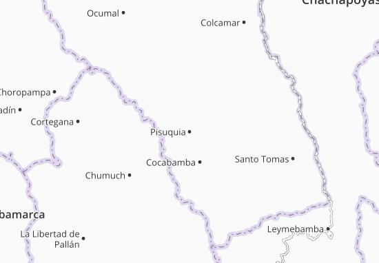 Pisuquia Map