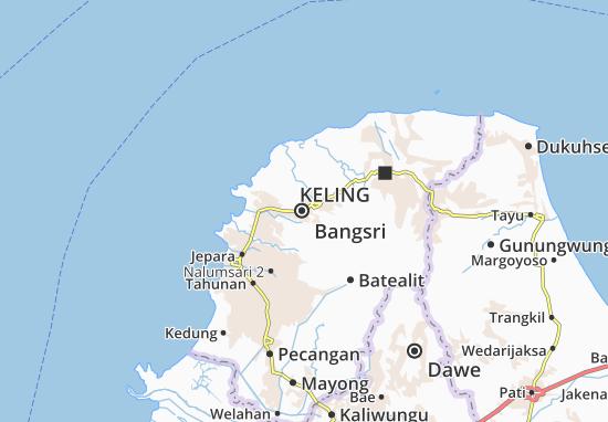 Mappe-Piantine Bangsri