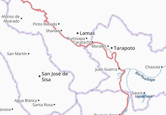Kaart Plattegrond Zapatero