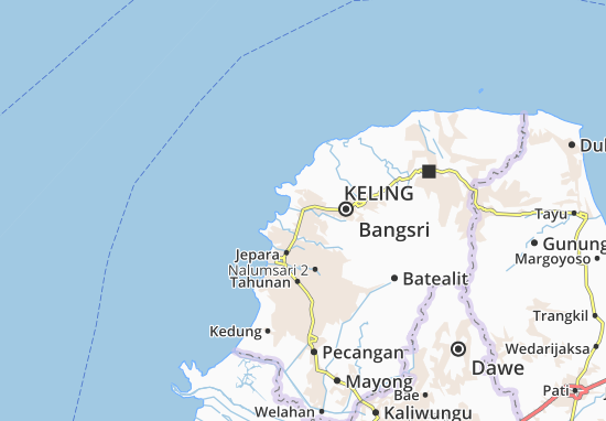 Mapas-Planos Mlonggo