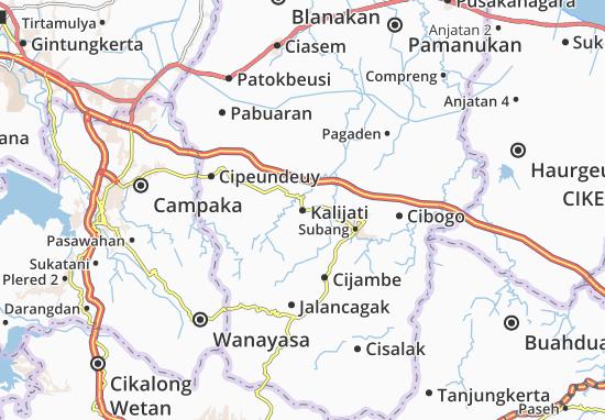 Kalijati Map
