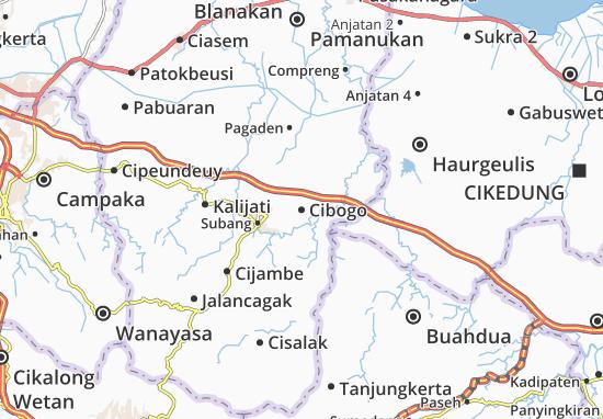 Cibogo Map