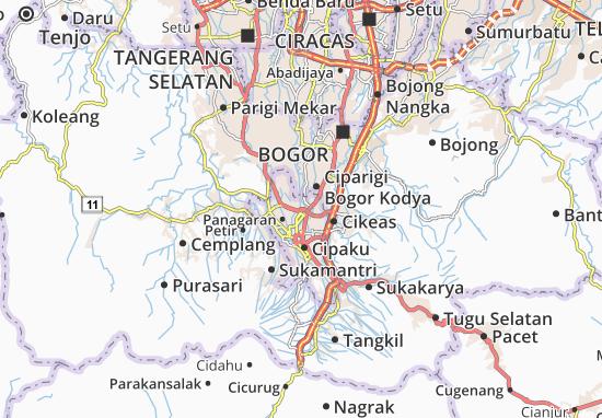 Mappe-Piantine Bogor Utara1