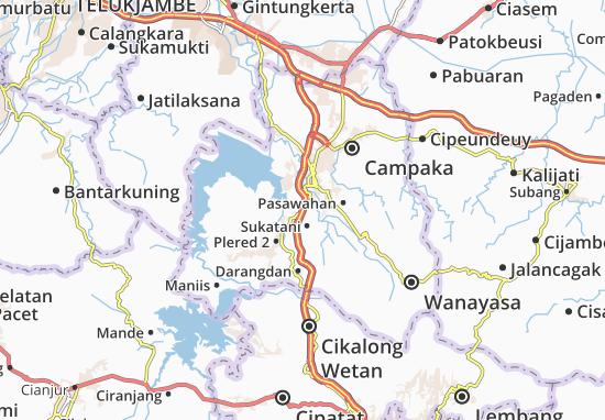 Plered 1 Map