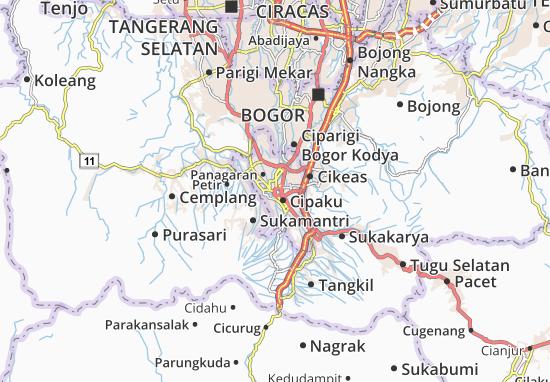 Mapa Bogor