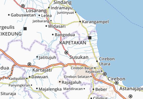 Kalideres Map