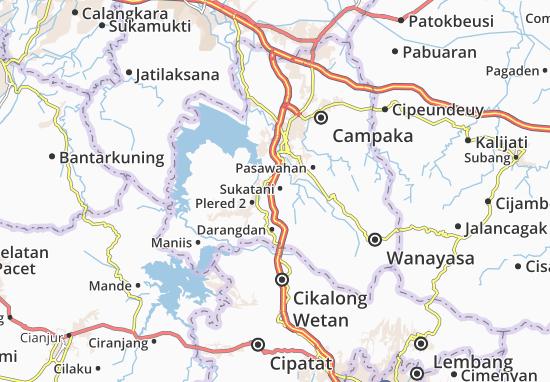 Sukatani Map