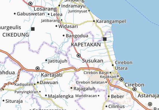 Susukan Map