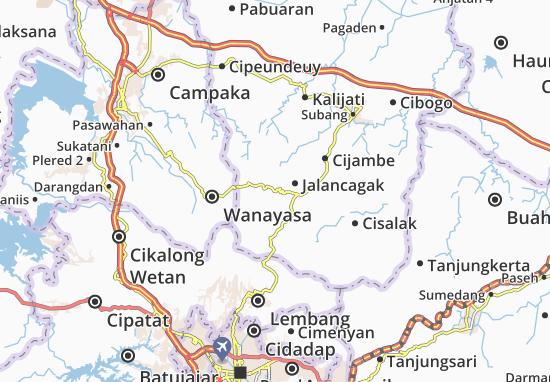 Sagalaherang Map