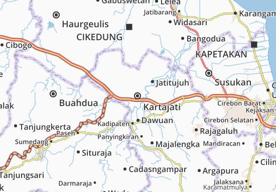 Kartajati Map