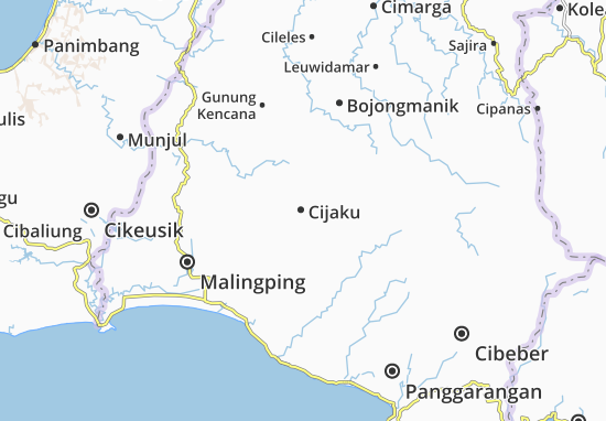 Cijaku Map