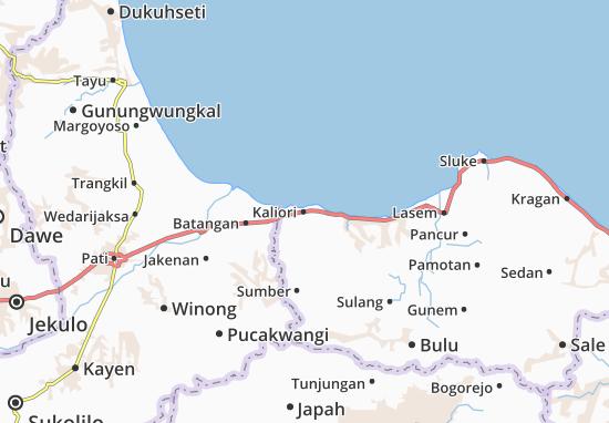 Kaliori Map