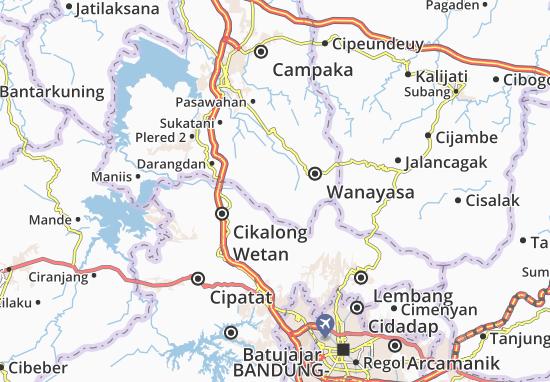 Bojong Map