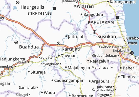 Jatiwangi Map