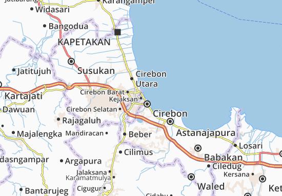 Kejaksan Map