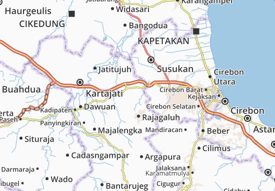 Leuwimunding Map