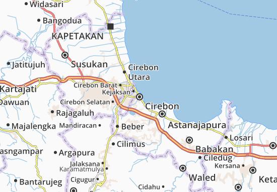 Mapas-Planos Cirebon