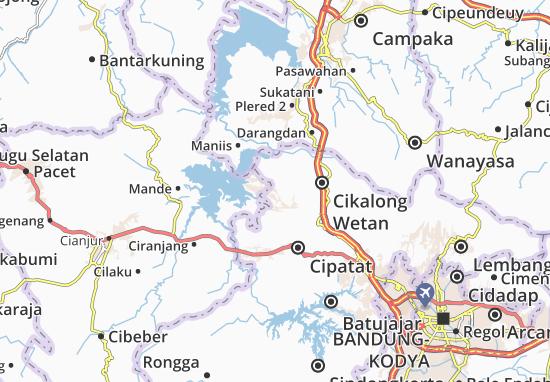 Mapa Cipeundeuy
