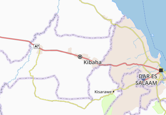Mapa Plano Kibaha
