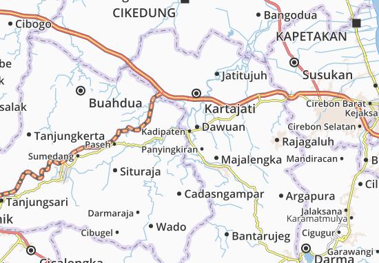 Kadipaten Map