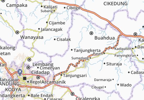 Tanjungkerta Map