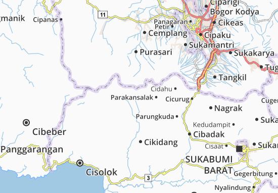 Kabandungan Map
