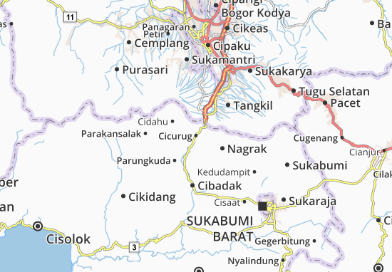 Cicurug Map