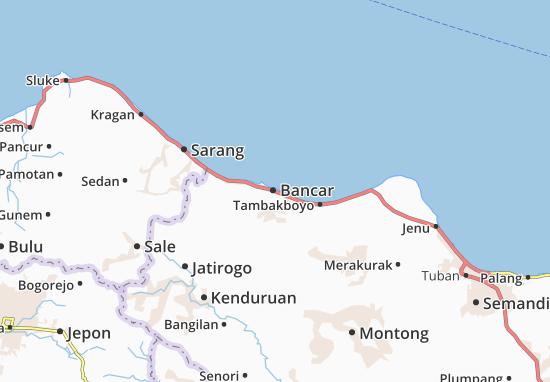 Bancar Map