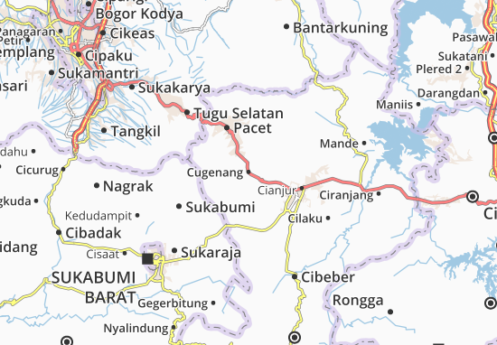 Cugenang Map