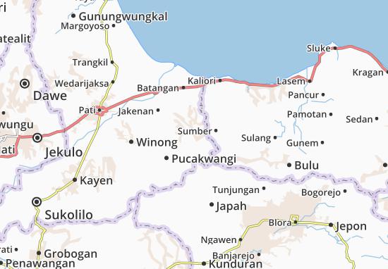 Jaken Map