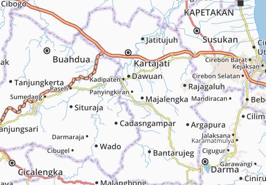 Panyingkiran Map