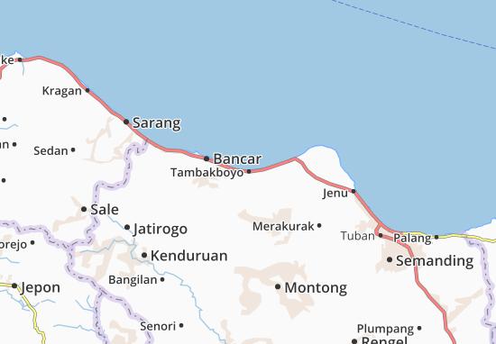 Tambakboyo Map