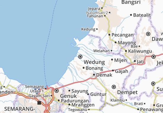Mapas-Planos Wedung