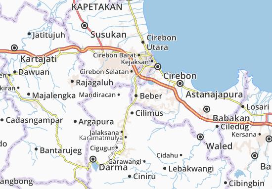 Beber Map